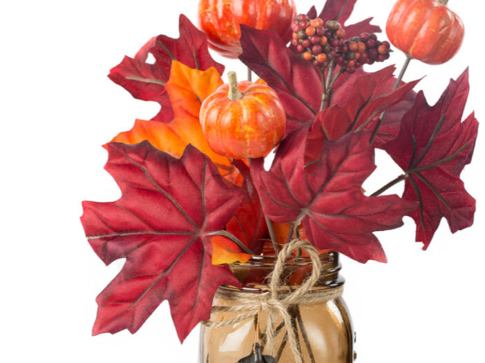 Fall Mason Jar Crafts DIY