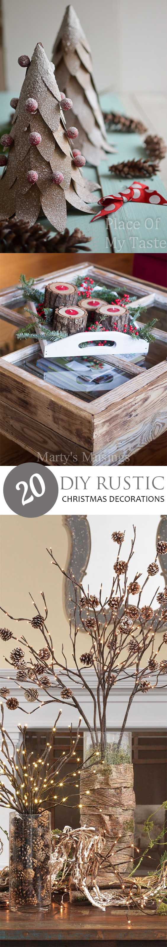 20 diy rustic christmas decorations pickled barrel for Diy christmas decorations for your home
