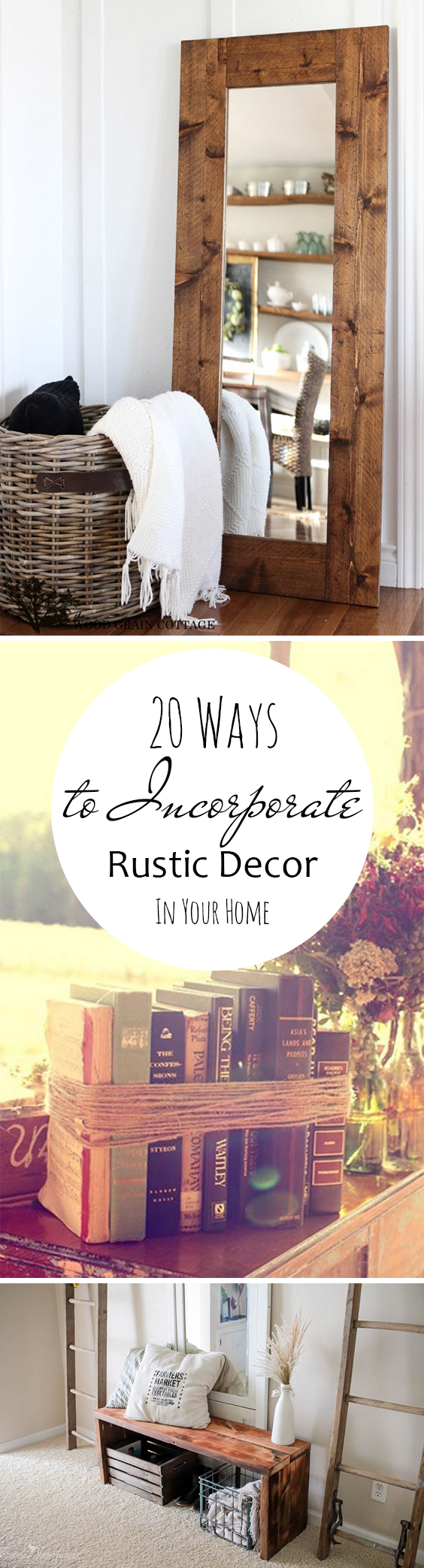 Rustic Home Decor, Rustic Interior Design, Farmhouse Living, Farmhouse Design, Popular Pin, DIY Home Decor, DIY Farmhouse Projects.