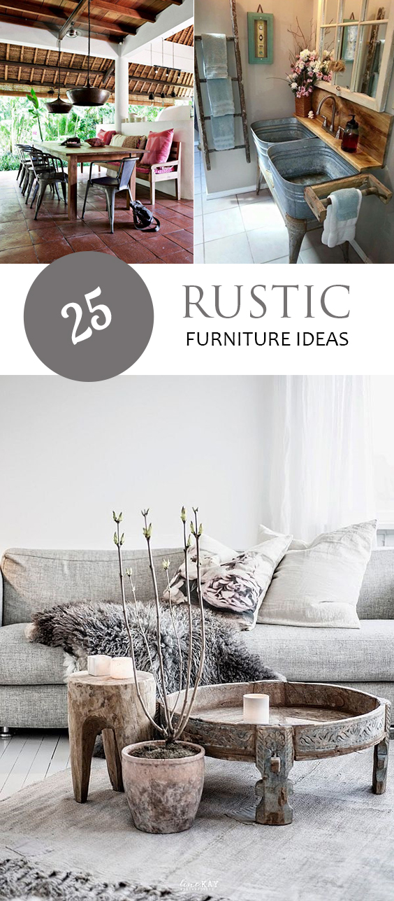 25 Rustic Furniture Ideas Page 4