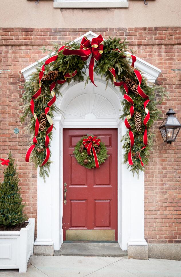 Garland for Christmas Porch