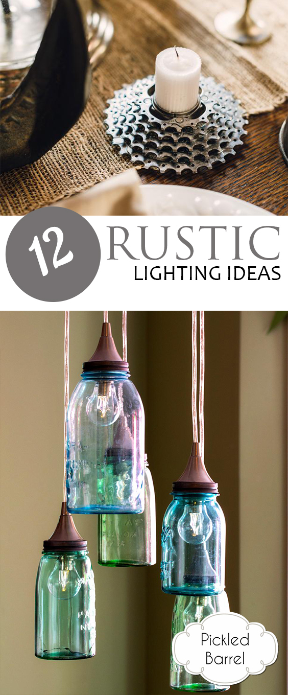 Rustic Lighting, Rustic Lighting Ideas, Rustic Lighting for the Home, Home Lighting, Home Lighting Tips and Tricks, Home Decor, DIY Home Decor, Rustic Lighting Hacks and Tips, Popular Pin, LIghting for the Home.
