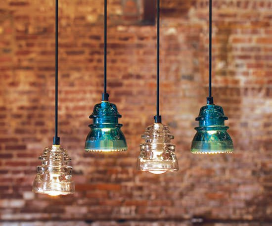 How to Repurpose Class, Lighting, DIY Lighting, Lighting Ideas, Home Lighting Ideas, DIY Lighting for The Home, Rustic Lighting For the Home, Things to Do With Vintage Glass, Popular Pin