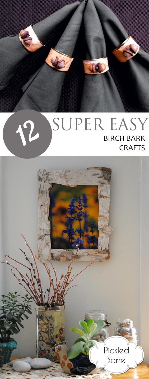 Birch Bark Crafts, Birch Bark Craft Ideas, Craft Ideas, Birch Bark Crafts, Craft Ideas, Rustic Craft Ideas, Crafts for Less, Easy Craft Ideas, Popular Pin