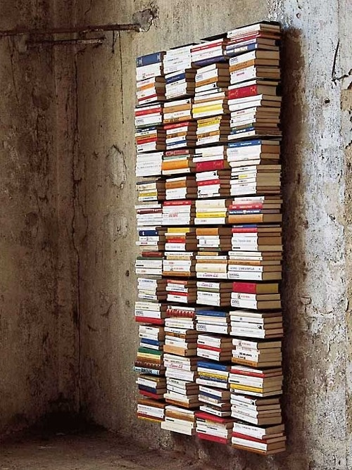 11 Fun and Folksy Bookshelves. Bookshelves, DIY Bookshelves. DIY Home, Bookshelf Ideas, How to Store Books, How to Display Books, Bookcase Displays, Rustic Home Decor