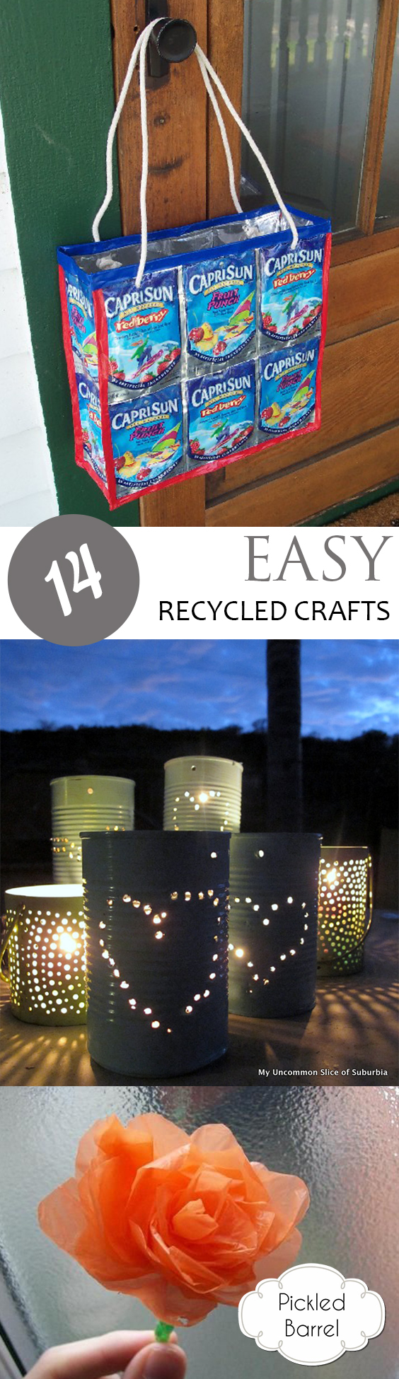 Recycled Crafts, Repurpose Projects, Craft Projects, Craft Project Ideas, Easy Craft Projects, Craft Projects for Kids, Craft Projects Using Leftover Materials, Upcycling Projects, Popular Pin