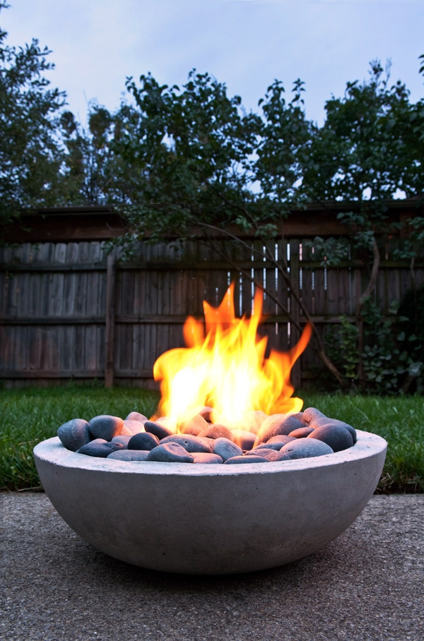 Firepits, DIY Firepits, Homemade Firepits, FIrepits, Yard Projects, DIY Yard Projects, Yard Projects, Outdoor Living, Outdoor Living Projects