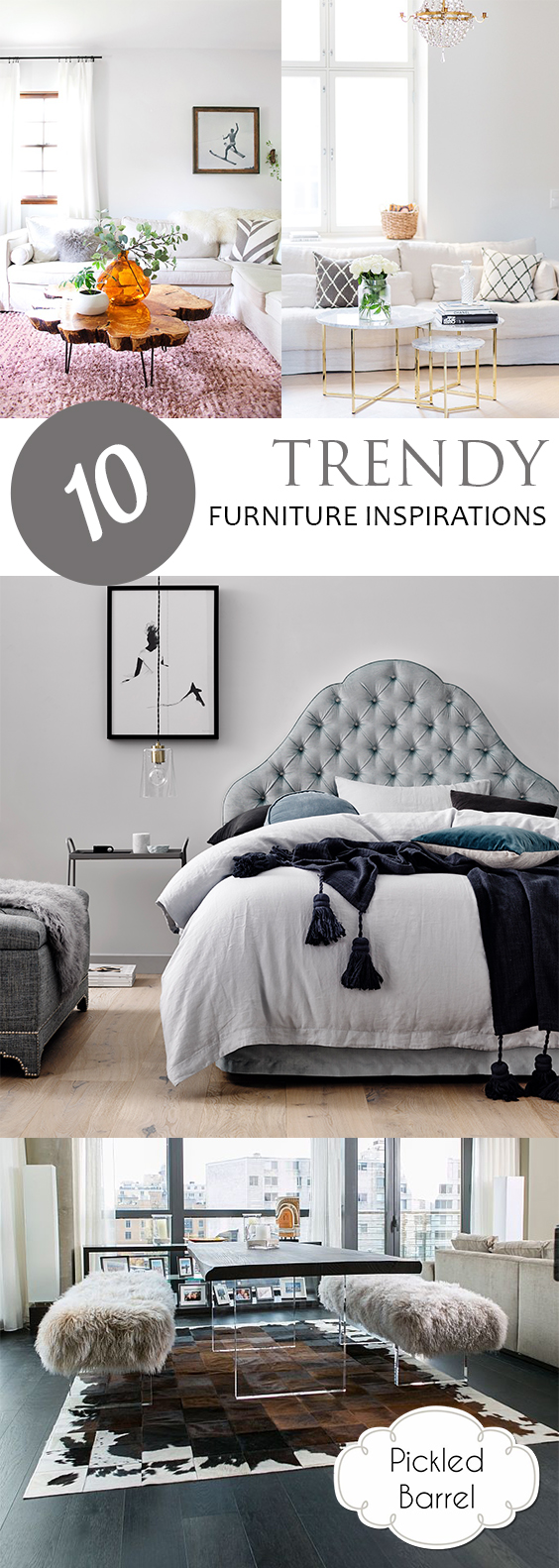 10 Trendy Furniture Inspirations| Furniture, DIY Furniture Projects, Furniture Tips and Tricks, Furniture Projects, DIY Furniture Projects, DIY Home, DIY Home Decor, Home Decor Hacks, Popular Pin