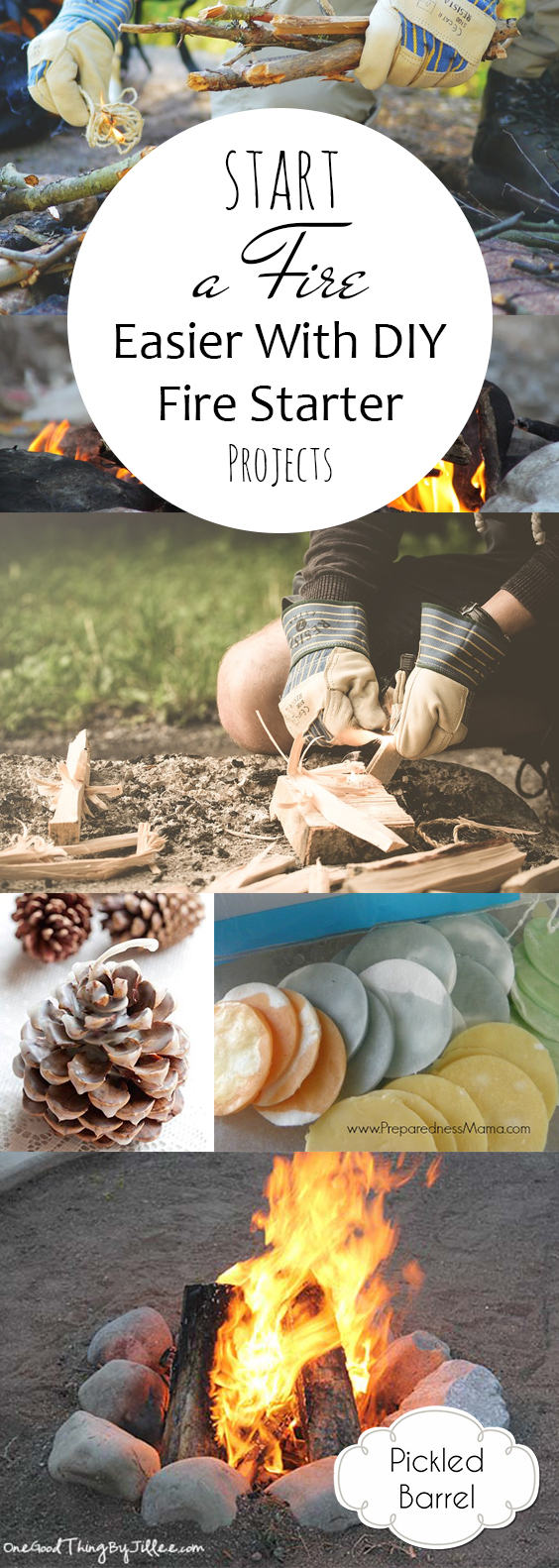 Start a Fire Easier With DIY Fire Starter Projects| DIY Fire Starter, Fire Starter Projects, Make Your Own Fire Starters, Homemade Fire Starters, Easy to Make Fire Starters, Popular Pin
