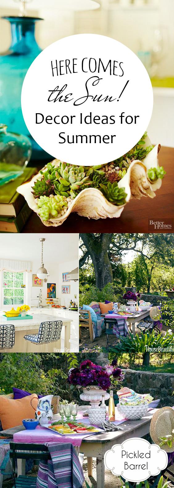 Decor Ideas for Summer – Pickled Barrel