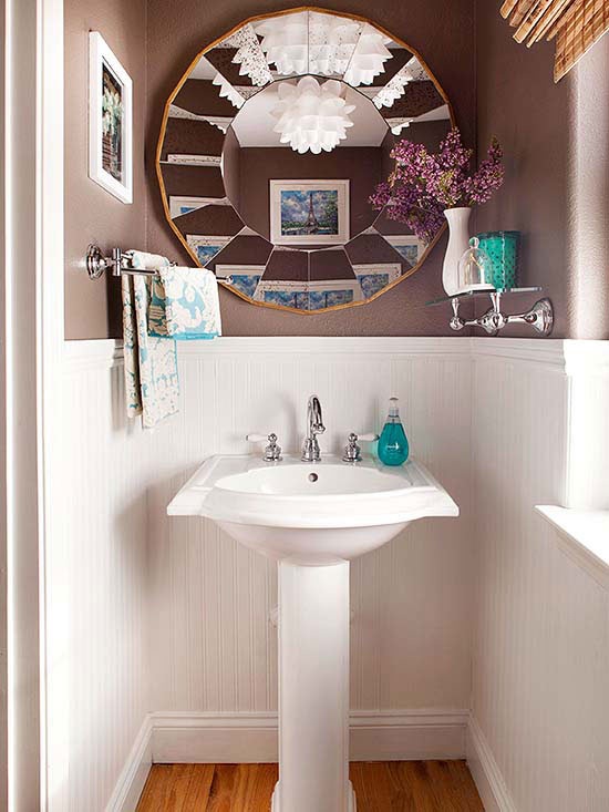 Totally Cheap Ways to Update Your Bathroom| How to Update Your Bathroom, Bathroom Updates, Cheap Bathroom Updates, Bathroom Improvements, Popular Pin