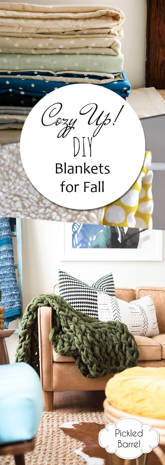 DIY Blankets, Blankets for Fall, DIY Blankets for Fall, DIY Home, DIY Projects, Crafts, Craft Projects, Simple Craft Projects