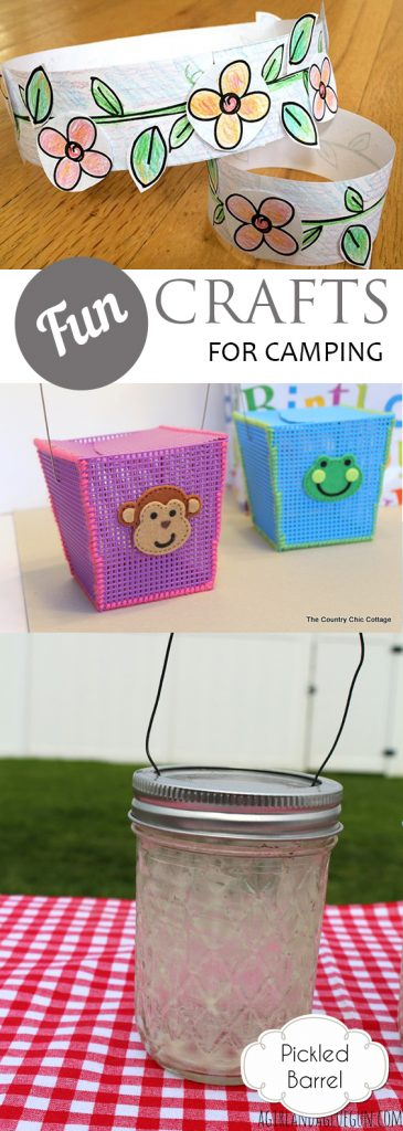 Camping Crafts, Fun Camping Crafts, Camping Activities, Fun Activities for Kids, Camping Activites for Kids, Kid Stuff, Popular Pin