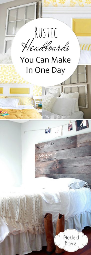 Rustic Headboards You Can Make In One Day| DIY Rustic Headboards, Rustic Headboard Projects, DIY Home, DIY Home Decor, Headboards You Can Make Yourself, DIY Headboards for the Home, Headboard Home Projects, Popular Pin