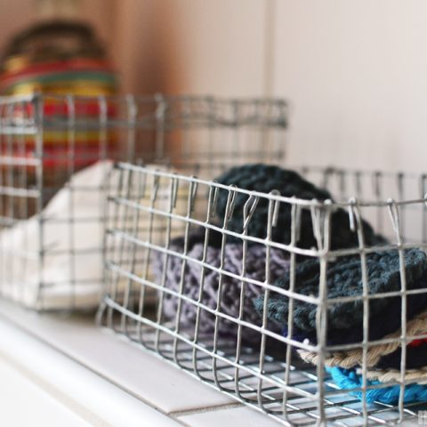 Simple DIY Wire Baskets| DIY Wire Baskets, DIY Storage Baskets, Homemade Wire Baskets, Handmade Wire Baskets, DIY Storage Baskets, Popular Pin