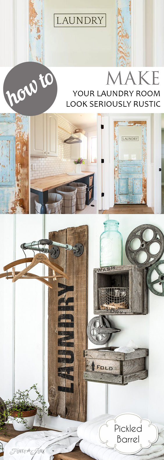 How to Make Your Laundry Room Look Seriously Rustic| DIY Laundry Room, Laundry Room, Laundry Room Storage, Laundry Room Decorations, Laundry Room Layout, Small Laundry Room Ideas, Laundry Room Organization, Remodel Your Laundry Room, How to Make Your Laundry Room Look Rustic, Rustic Laundry Room Ideas, Popular Pin