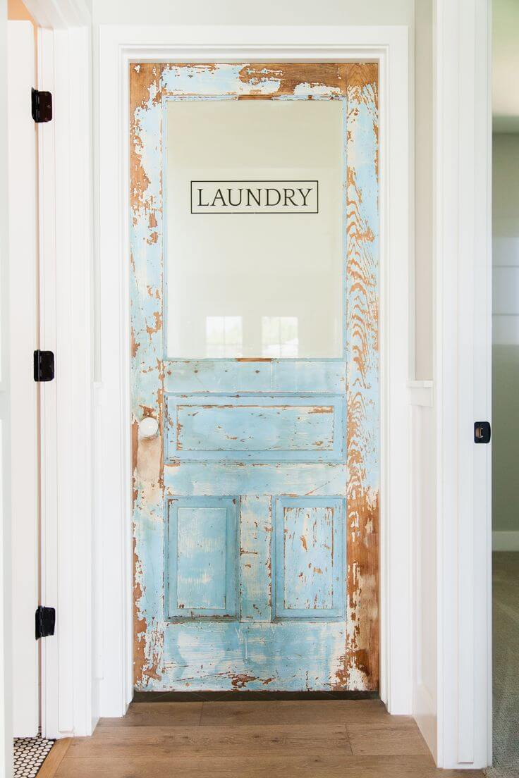 How to make your laundry room look seriously rustic for Build your room