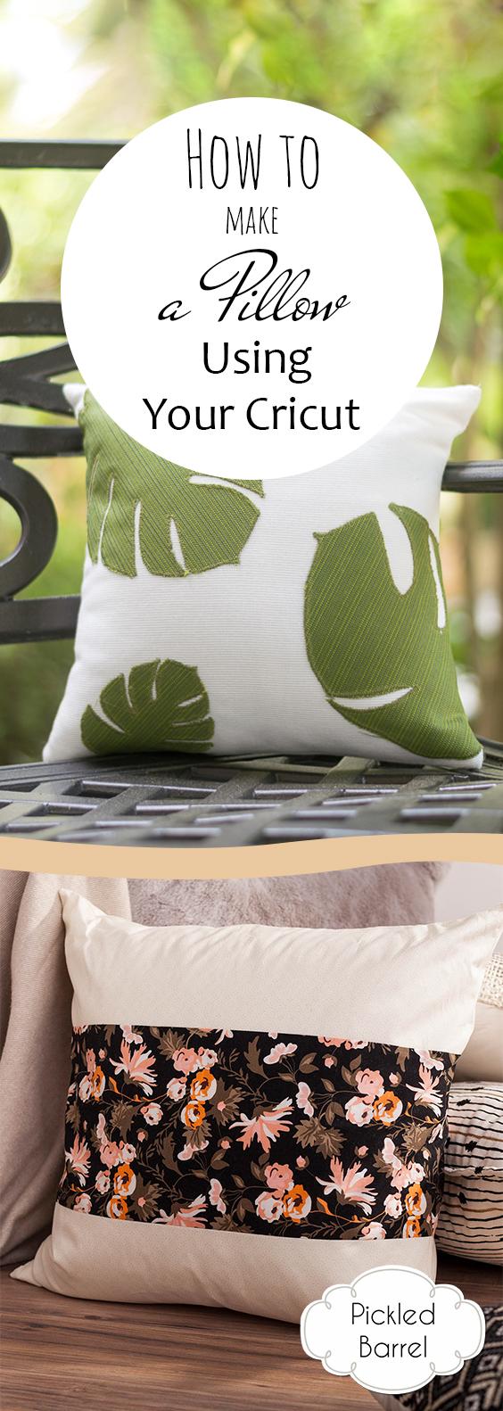 How to Make a Pillow Using Your Cricut| Cricut Pillows, Cricut Pillow Projects, Cricut Pillow Projects, Cricut Crafts, Pillow Crafts, Pillow Projects. #CricutPillow #CricutCrafts #CricutPillowCrafts #SewingProjects