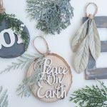 12 DIY Rustic Ornaments for Christmas| Rustic Ornaments, DIY Ornaments, Holiday Ornaments, DIY Christmas, DIY Christmas Ornaments, Holiday Crafts, Holiday Craft Projects, Crafts, Christmas Crafts #ChristmasOrnaments #Christmas #HolidayCrafts
