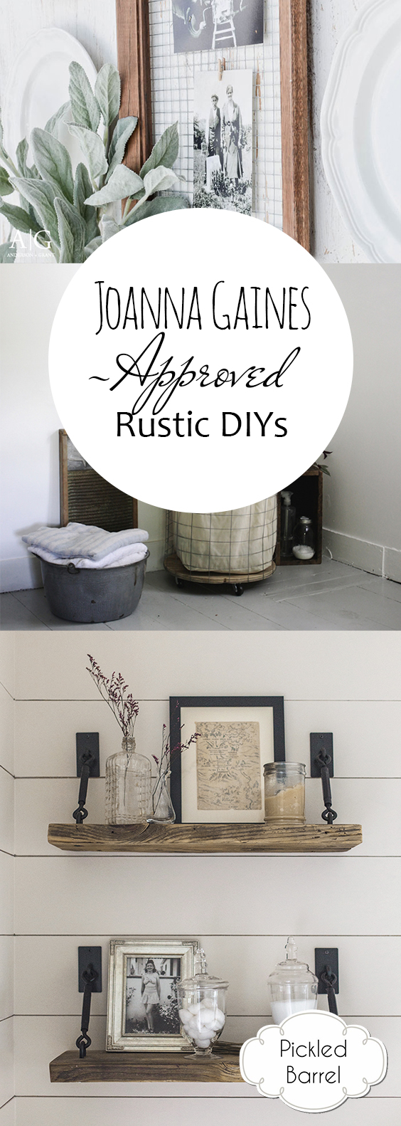 Joanna Gaines-Approved Rustic DIYs| Joanna Gaines, Joanna Gaines Crafts, Rustic Home Decor, DIY Rustic Home, Easy Rustic Home Decor, Farmhouse Home, DIY Farmhouse, DIY Farmhouse Decor. #JoannaGaines #JoannaGainesDIY #HomeDecor #RusticHomeDecor