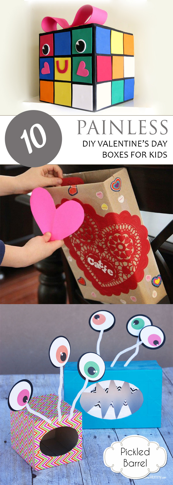 10 Painless Diy Valentines Day Boxes For Kids Pickled Barrel