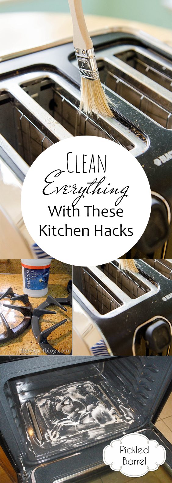 Clean EVERYTHING With These Kitchen Hacks| Kitchen Cleaning, Kitchen Cleaning Hacks, Cleaning Hacks, Clean Home, Clean Home Hacks, Clutter Free Kitchen, Kitchen Cleaning, Popular Pin #Kitchen #Cleaning #CleanKitchen