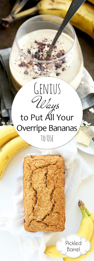 Genius Ways to Put All Your Overripe Bananas to Use  Uses for Overripe Bananas, Banana Recipes, Easy Banana Recipes, Recipes, Easy Recipes, What To Do With Overripe Bananas, Popular Pin #Recipes #BananaRecipes