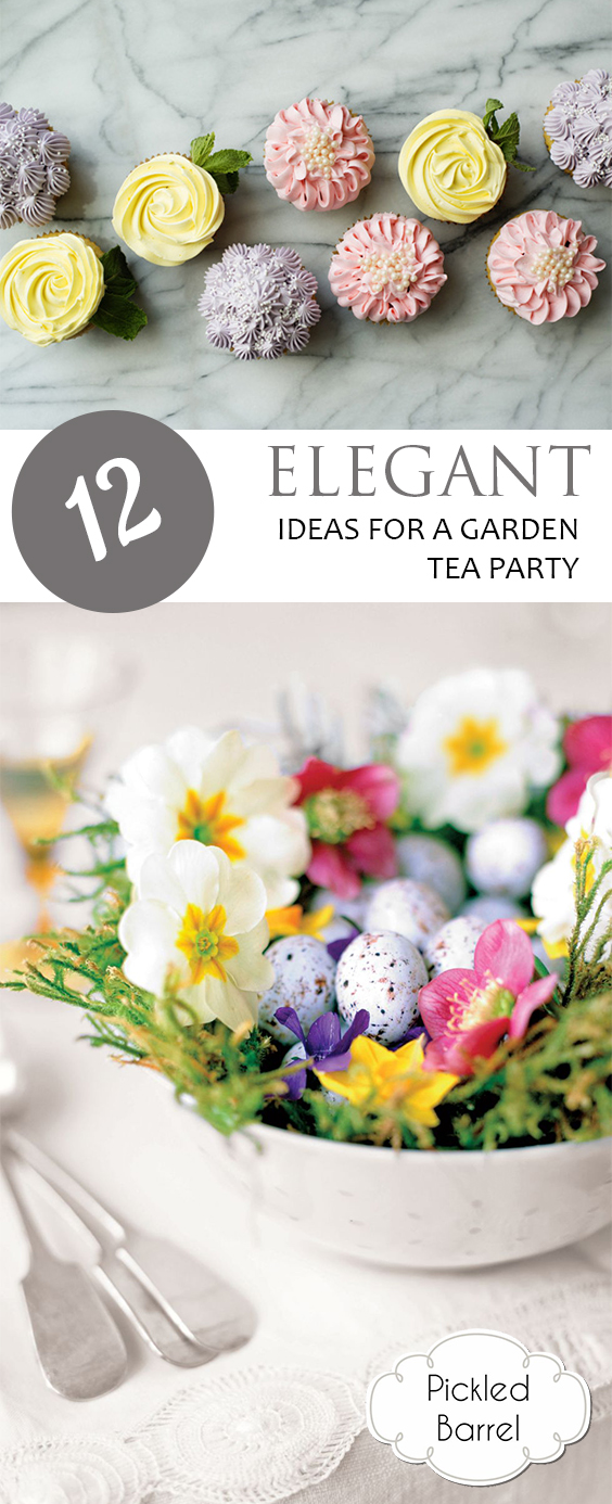 12 Elegant Ideas for a Garden Tea Party| Party Ideas, Party Games, Party Food, DIY Party Decor, DIY Party Decorations, DIY Party Favors, Party Themes, Party Themes for Kids #DIYPartyFavors #DIYPartyDecor #PartyIdeas #TeaPartyBirthday