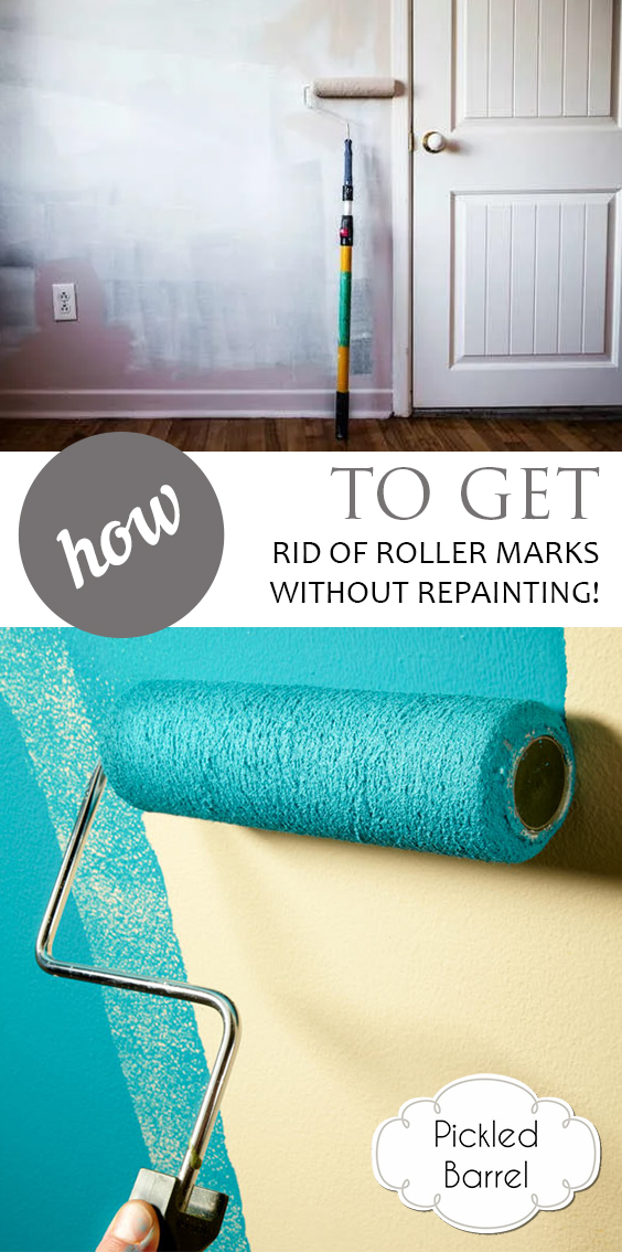 How to Get Rid of Roller Marks Without Repainting!| Crafts, Home Decor, Home Decor Ideas, Home Improvement, Home Hacks, DIY Hacks #HomeImprovement #HomeDecorIdeas, HomeHacks #HomeImprovement