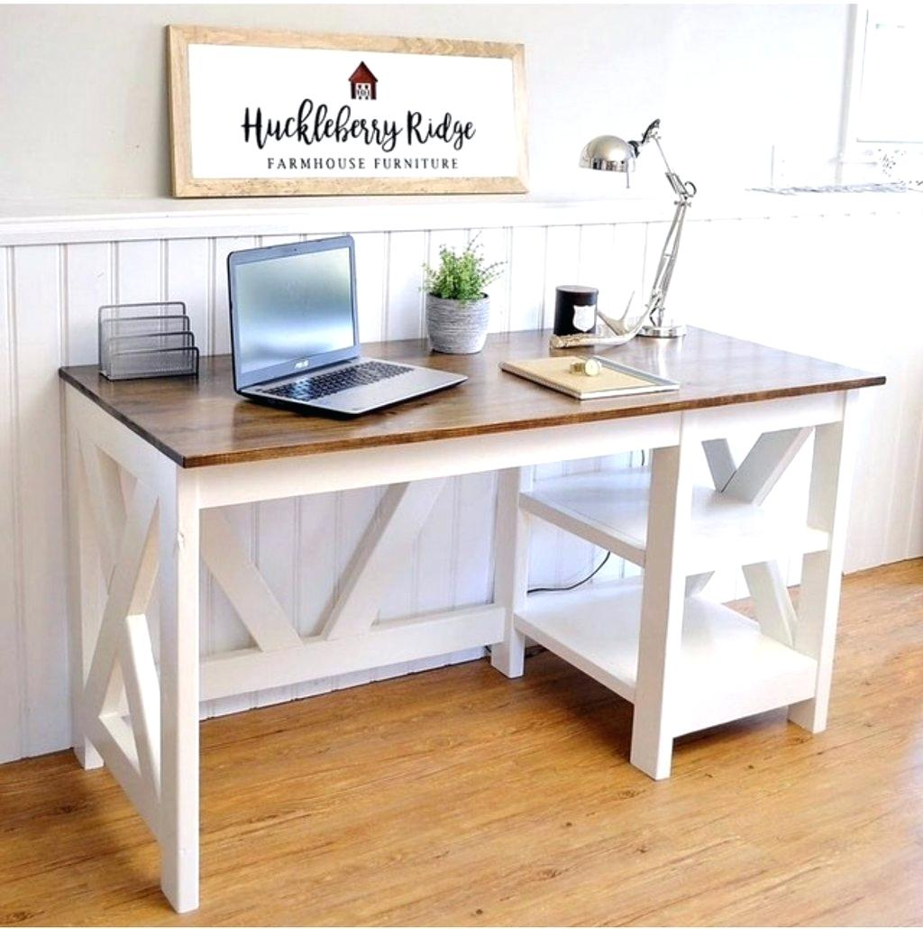 Farmhouse Murphy Bed With Desk