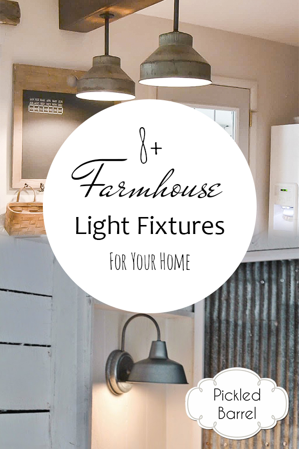 8+ Farmhouse Light Fixtures For Your Home| Farmhouse Lighting, Farmhouse Light Fixtures, Light Fixture Idea, Rustic Lighting, Rustic Light Fixtures