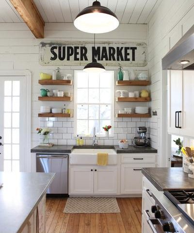 Joanna Gaines Farmhouse Kitchen