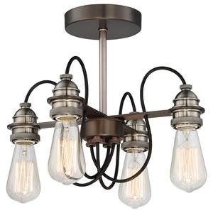 Semi Flush Ceiling Light-DIY light fixtures