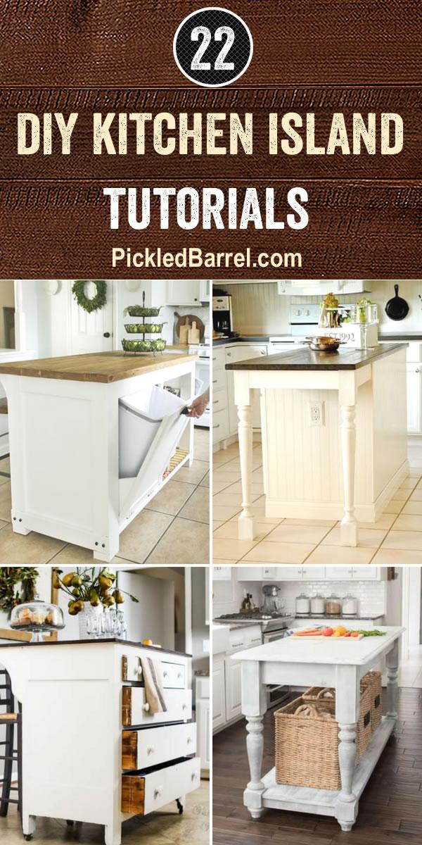 DIY Kitchen Island Tutorials
