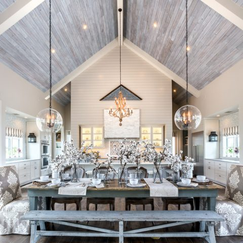 Farmhouse Chic Decor in a Modern Farmhouse Dining Room