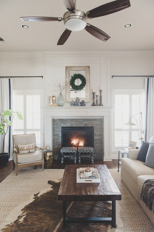 Charming Farmhouse Style Living Room - 10 Modern Farmhouse Style Living Rooms