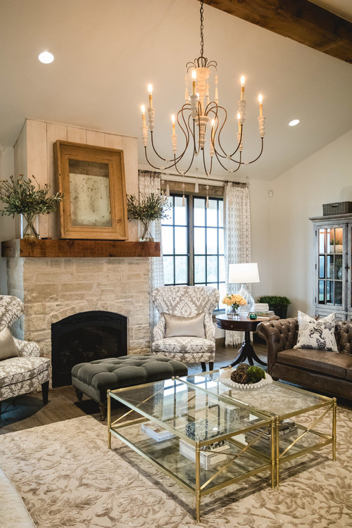 Farmhouse Chic Living Room - 10 Modern Farmhouse Style Living Rooms
