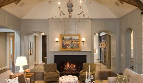 French Country Farmhouse Living Room - 10 Modern Farmhouse Style Living Rooms