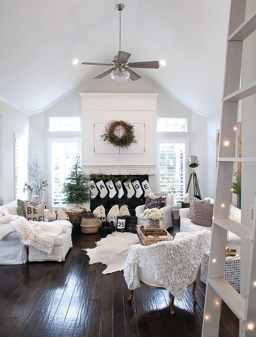 Modern Farmhouse Christmas Living Room - 10 Modern Farmhouse Style Living Rooms