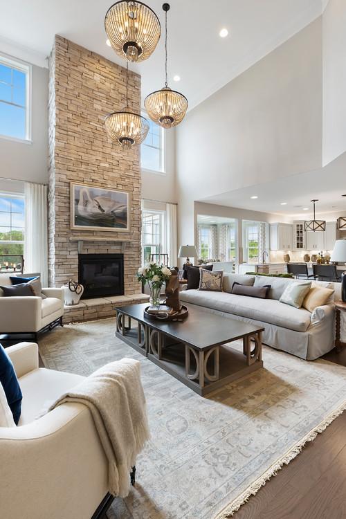 Modern Farmhouse Style Living Room - 10 Modern Farmhouse Style Living Rooms