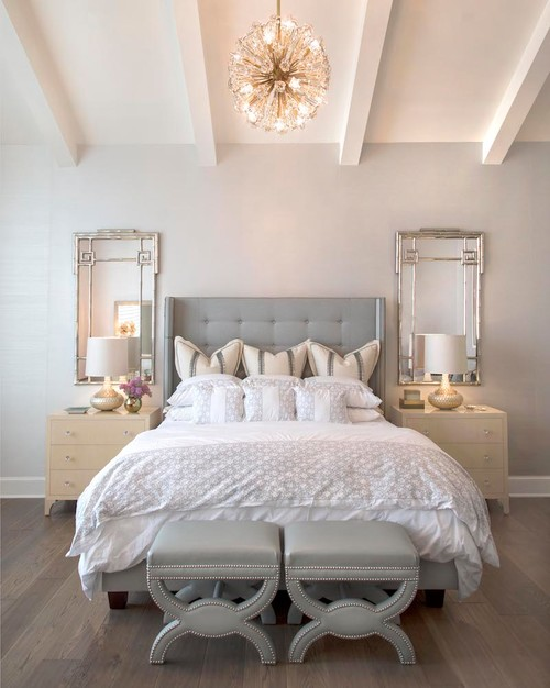 Farmhouse Style Bedroom Decor Ideas: Serene Colors and Glam Decor