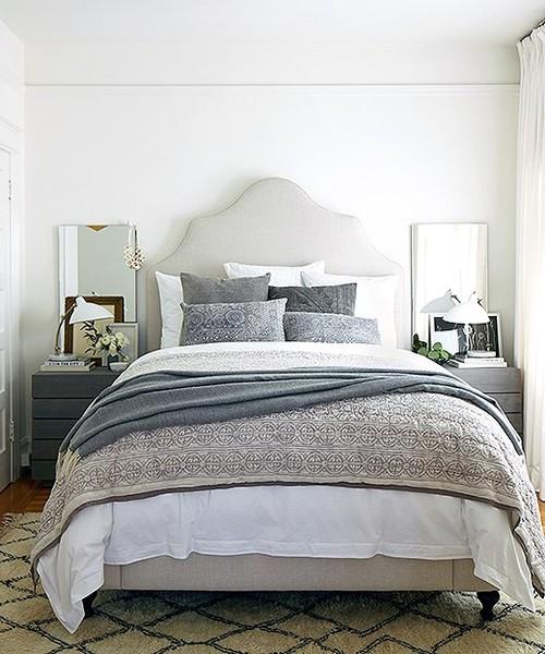 Farmhouse Style Bedroom Decor Ideas: Moroccan Decor