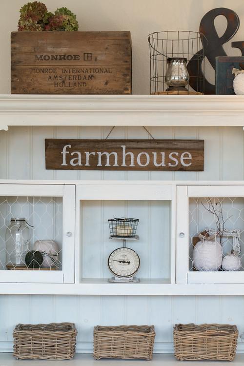 Modern Farmhouse Decor with Classic Style: Stylish Storage