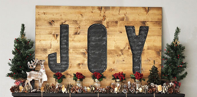 Build a DIY Joy Sign- PickledBarrel.com
