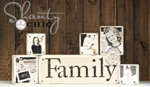 Rustic Photo Display DIY Ideas - PickledBarrel.com