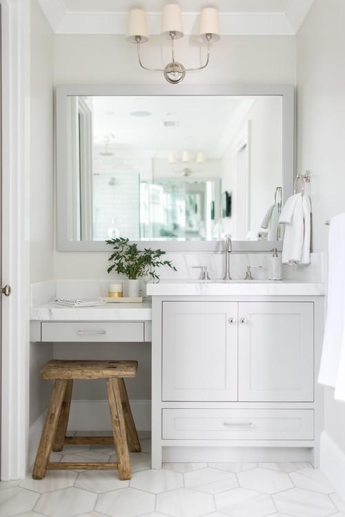 Modern Farmhouse Gray Bathroom Decor Ideas