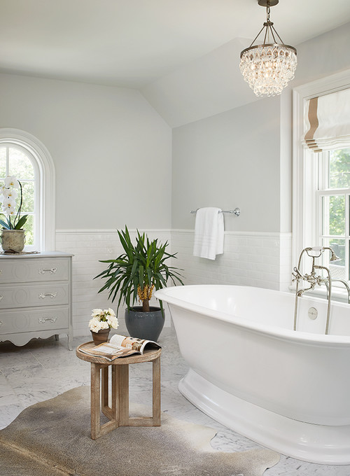 Modern Farmhouse Gray Bathroom Decor Ideas