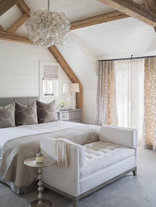 Modern Farmhouse Gray Bedroom Decor Ideas