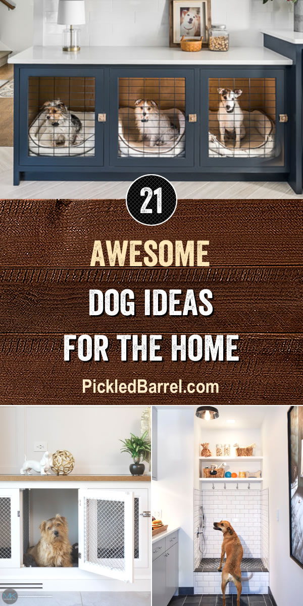 Awesome Dog Ideas For The Home - PickledBarrel.com