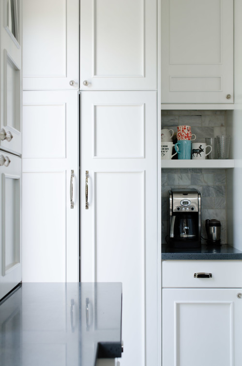 Built-in Kitchen Coffee Bar Cubby